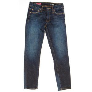 Red Engine Redhot Signature Rise Crop Jeans
